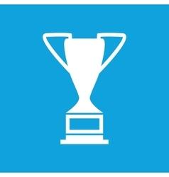 Trophy cup icon simple vector image