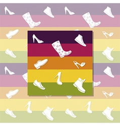 White shoes vector