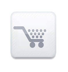 White Shopping icon Eps10 Easy to edit vector