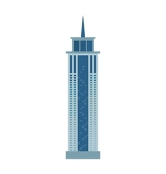 Skyscraper icon isolated on white background vector image vector image