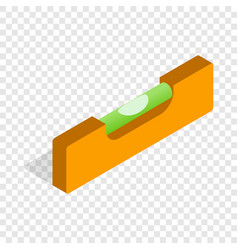 level measurement isometric icon vector image