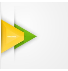 abstract triangles background Object web vector image