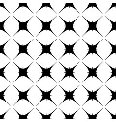 star geometric seamless pattern 8508 vector image