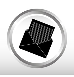 email concept design vector image