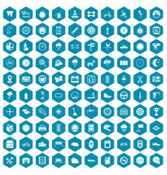 100 motorsport icons sapphirine violet vector