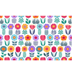 colorful funny seamless pattern with vector image