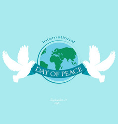 Day peace vector