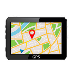 Gps navigation system device vector