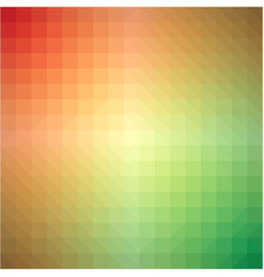 light rainbow triangle gradient background vector image