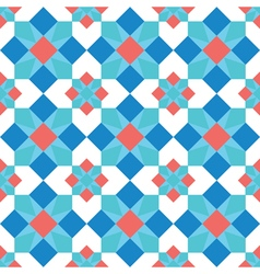 Mosaic background seamless pattern vector