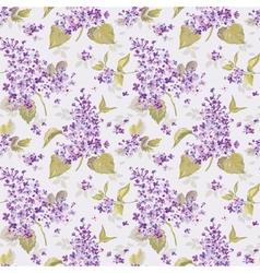 Vintage Floral Lilac Background vector