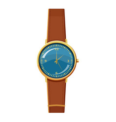 wristwatch icon cartoon style vector image