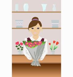 florist vector image vector image