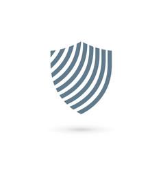shield logo icon design template elements vector image