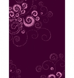background twirls vector image vector image