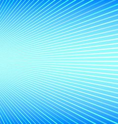 Abstract Blue Background with Stripes and Faded vector image