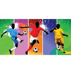 Club soccer champions vector