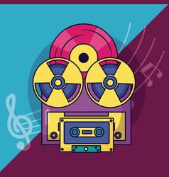Festival music poster vector