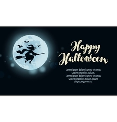 Halloween Design template greeting card or vector