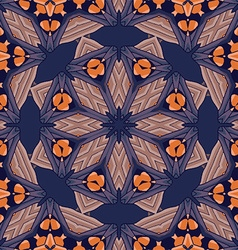 Mandala background design vector image