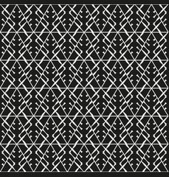 monochrome tribal seamless texture vector image