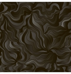 Abstract wave background with imitation of black vector image vector image