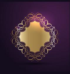 Decorative background design vector