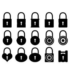 Locks vector image vector image