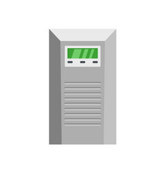 Control module icon flat style vector