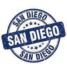San Diego stamp vector image