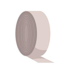 Bandage roll medical equpment clinic vector