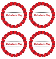 Card Valentines Day vector image vector image