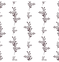 seamless floral pattern with spring vector image vector image