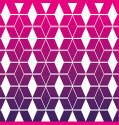 Silhouette pattern geometric shapes background vector