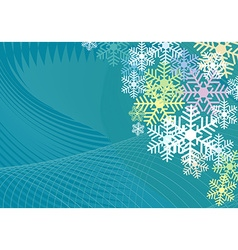 Colorful Background for christmas vector image vector image