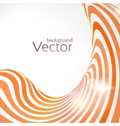Abstract business background with 3d lines vector image
