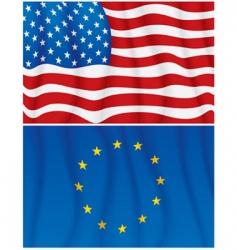 American european vector