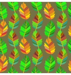 Background of leaves Seamless vector