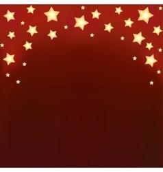 Background with shiny cartoon stars vector