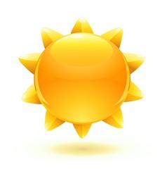 cartoon summer sun vector image