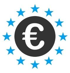 Euro Union Stars Icon vector image