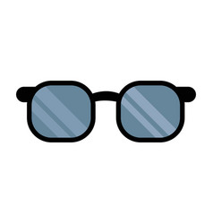 Glasses accessorie doctor health medical vector