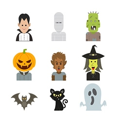 icon halloween vector image vector image