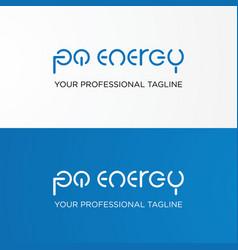 modern typography design vector image