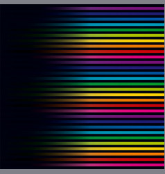 multicolored lines colorful lines horizontal vector image