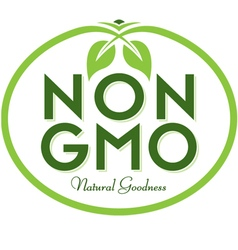 Non GMO Natural Goodness vector