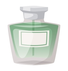 Perfume bottle template vector image