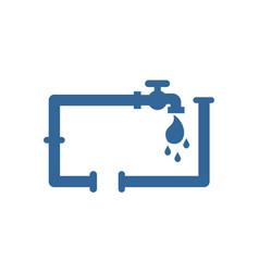plumbing logo vector image