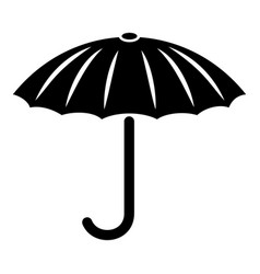 protection umbrella icon simple style vector image
