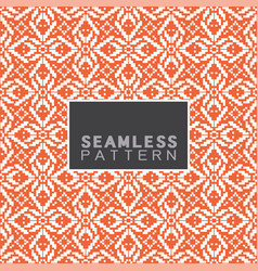 seamless pattern and repeating thai basketry vector image